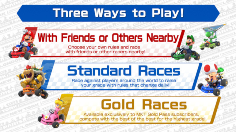 Mario Kart Tour: Multiplayer mode will be available on March 9, 2020 on Android and iOS